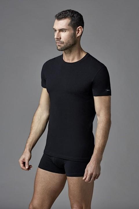 Konpakt Likralı O Yaka T-Shirt Dagi 5120