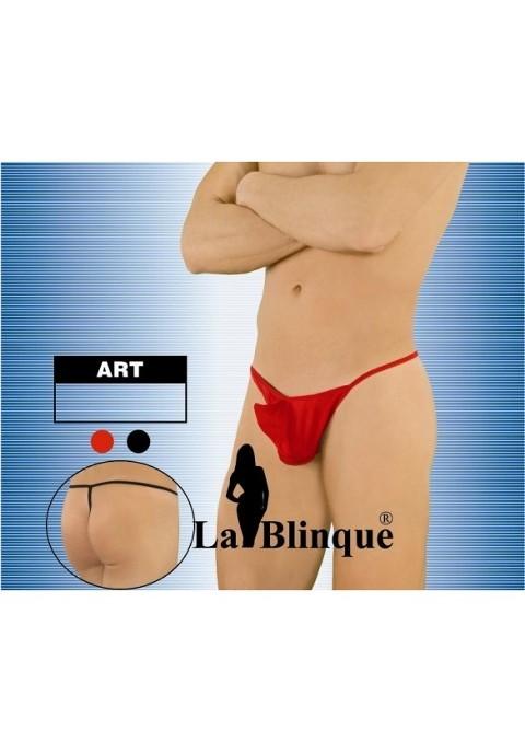 La Blinque Kırmızının Ateşi Standart Dışı Stringle Kombinesi 15007