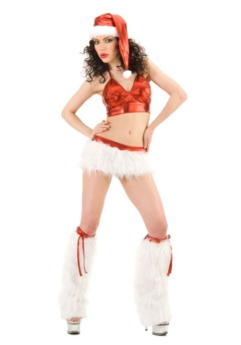 La Blinque Seksi Noel Kıyafeti 6040