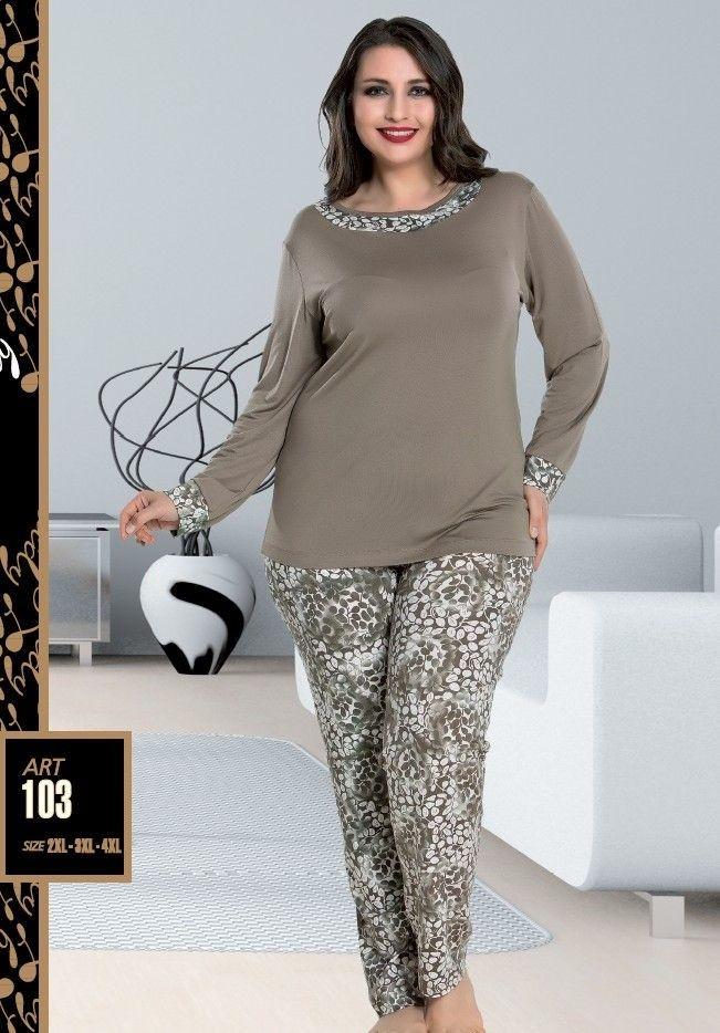 Lady 103 Büyük Beden Pijama