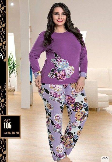 Lady 105 Büyük Beden Pijama