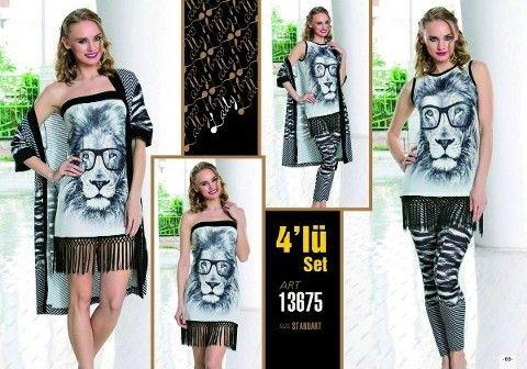 Lady 13675 4 Lü Set