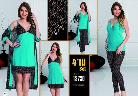 Lady 13730 4 Lü Takım