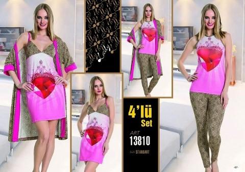 Lady 13810 4 Lü Takım