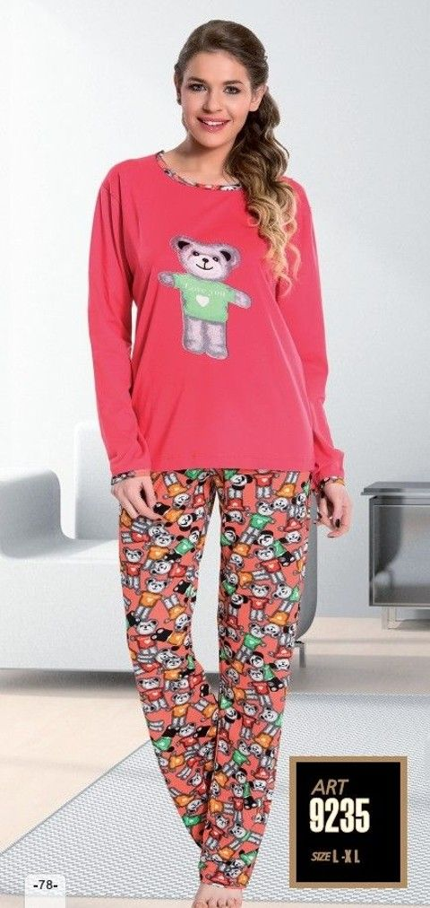 Lady 9235 Kadın Pijama