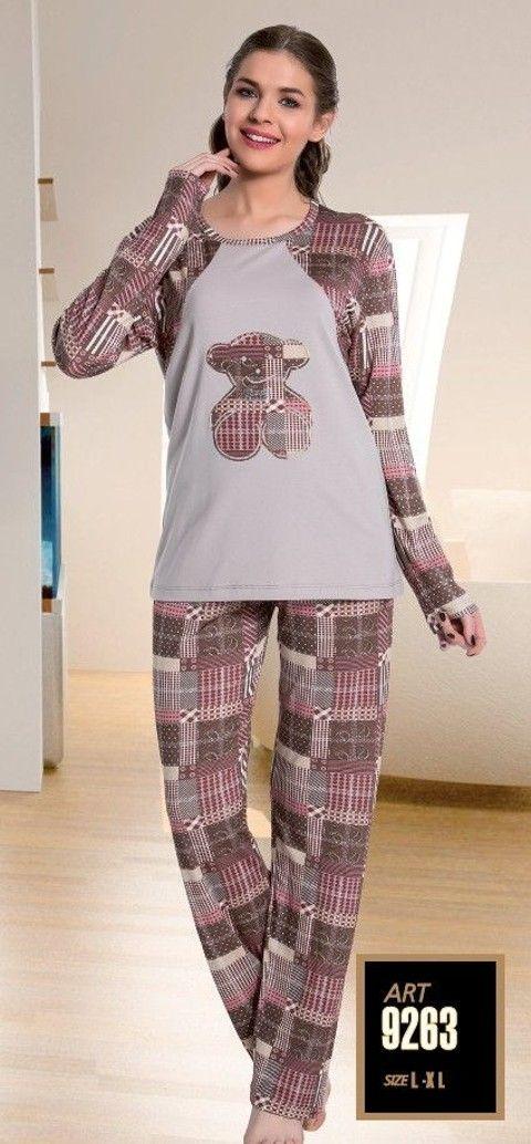 Lady 9263 Bayan Pijama
