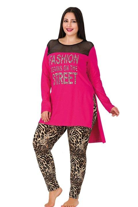 Lady Büyük Beden Pijama Takım 156