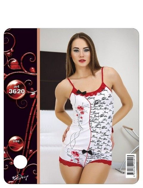 Lady Şortlu Pijama Takım 3620