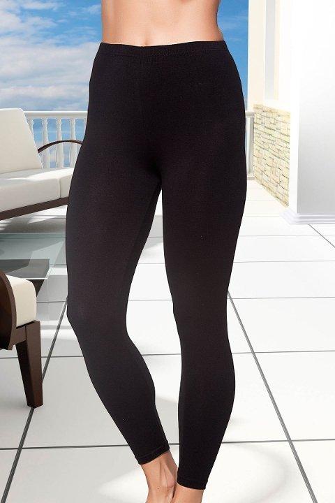 Tayt Lady Uzun Likralı Penye Bayan Tayt 1031