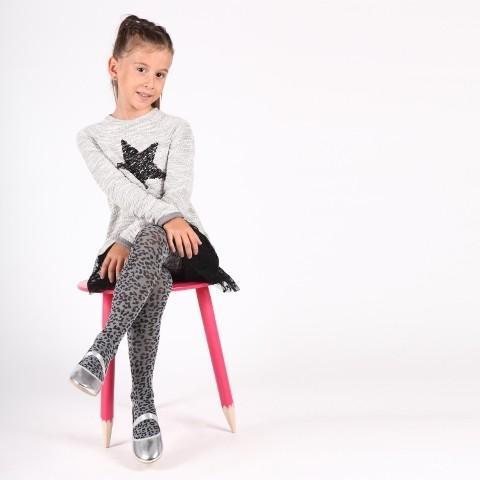 Daymod Leoparım Çocuk Külotlu Çorap D2122062