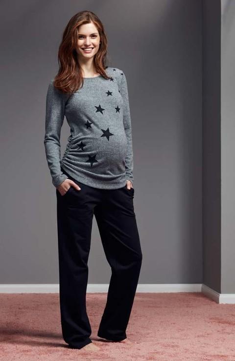 Lohusa Pijama Seti Üstü Yıldızlı Catherine's 834
