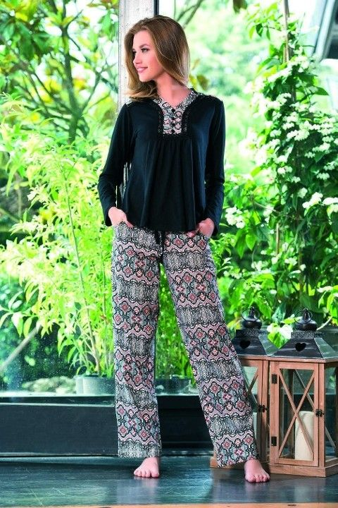 Maranda 7112 Örme Kışlık Pijama Takımı