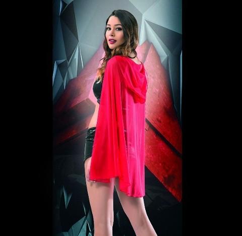 Maranda Kırmızılı Kız Kostümü 5217