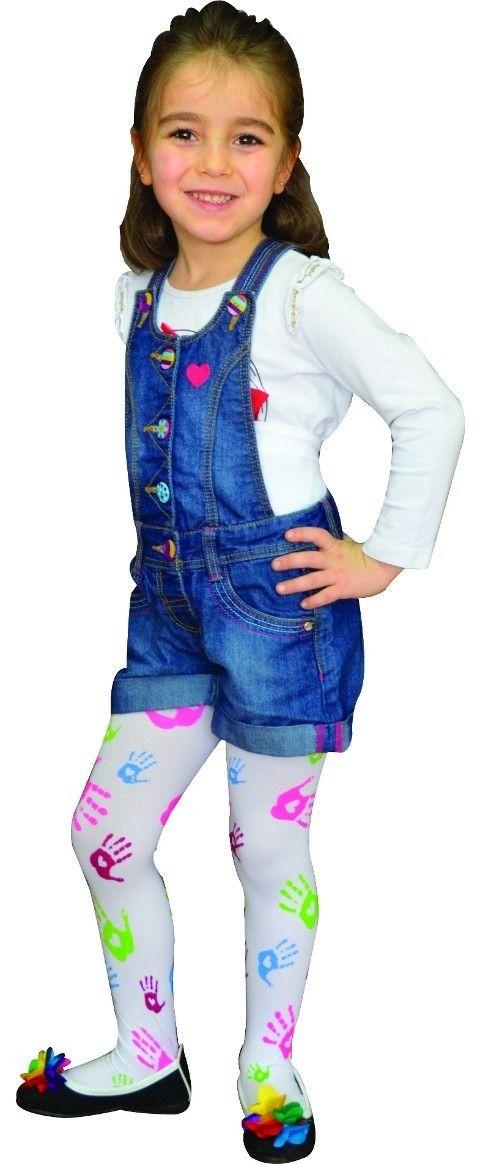 Daymod Melis Desenli Çocuk Külotlu Çorabı