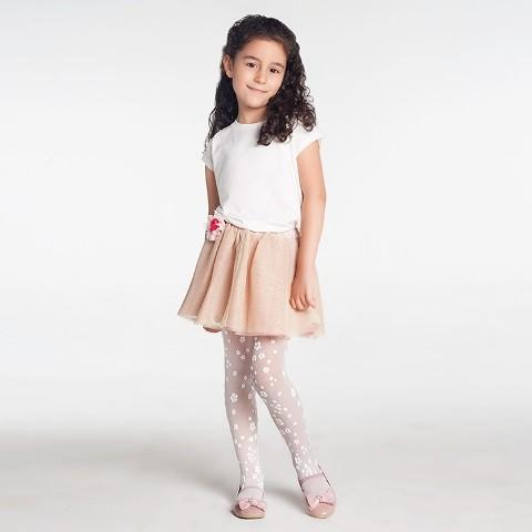 Daymod Menekşe Çocuk Külotlu Çorap