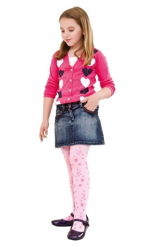 Daymod Menekşe Çocuk Külotlu Çorap D2125003