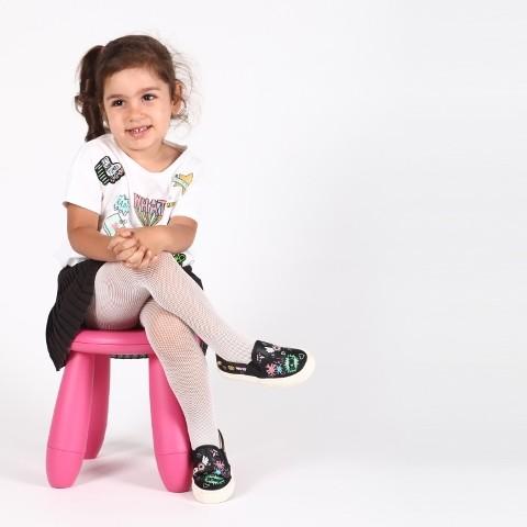 Daymod Micro Rete Çocuk Külotlu Çorap
