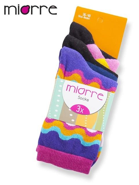 Miorre Bayan 3 Lü Soket Çorap
