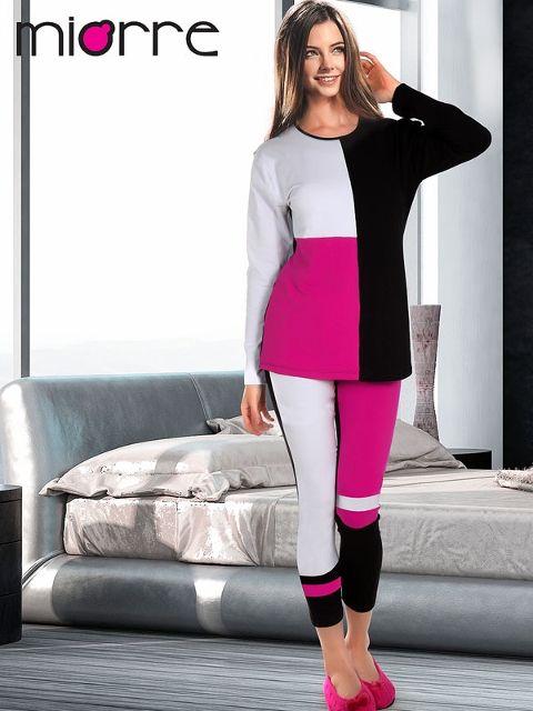 Tayt Pijama Takımları Miorre Bayan Pijama Takımı