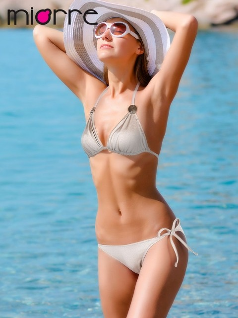 Bikini Miorre Boyundan Bağlamali Bikini