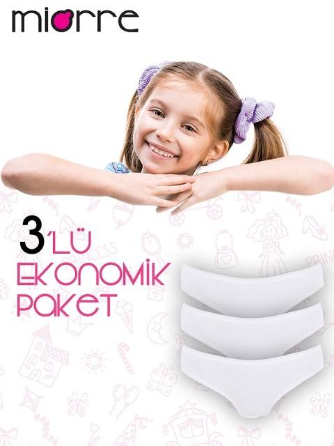 Miorre Caldo 3'Lü Kız Çocuk Külot
