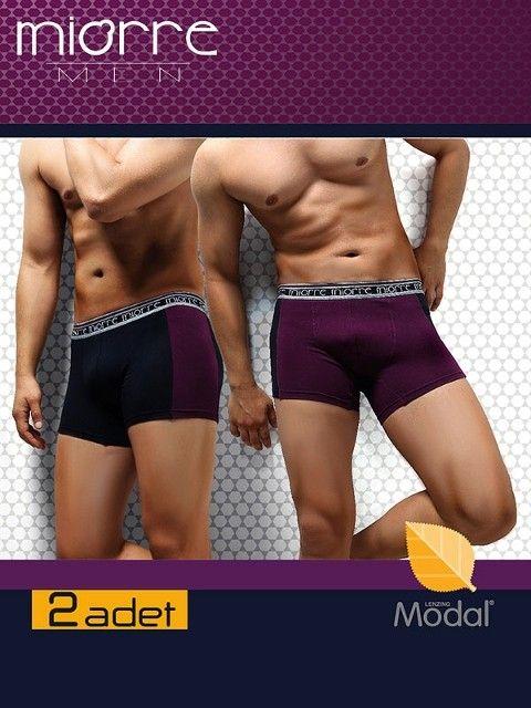 Miorre Felıx 2'Li Paket Modal Erkek Boxer