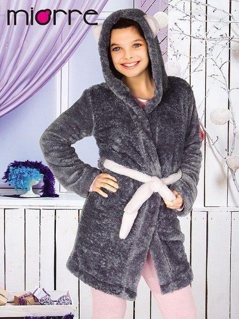 Miorre Kız Çocuk Polar Sabahlık
