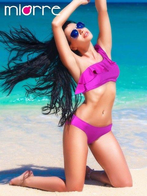 Bikini Miorre Tek Omuz Askılı Bikini