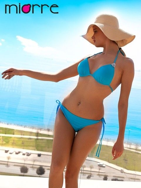 Bikini Miorre Yarim Dolgulu Bağcikli Bikini