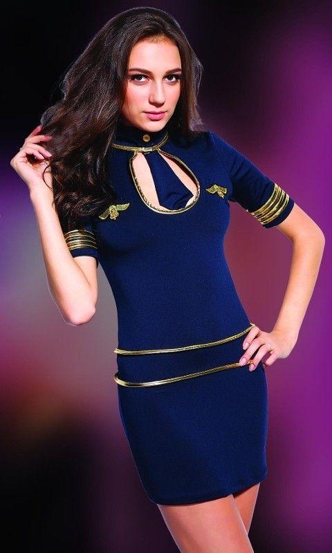 Missvera Hostes Kız Kostümü 9130