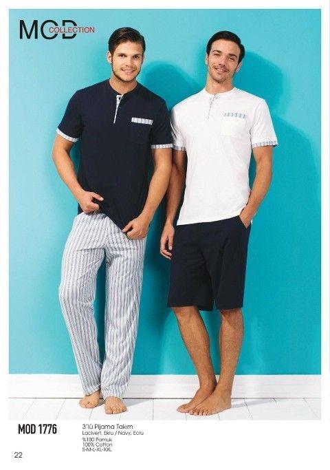 Mod Collection 3 Lü Pijama Takım 1776