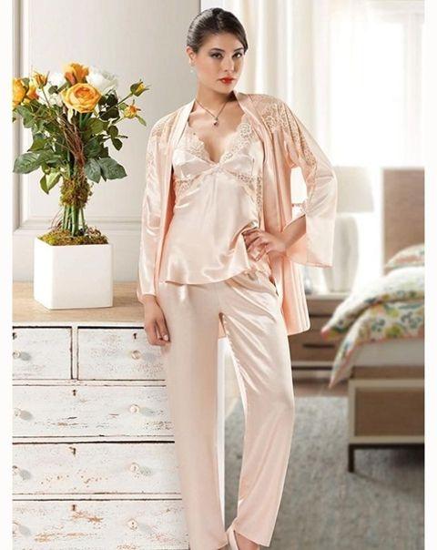 Nilay 1310 Saten Pijama Takım