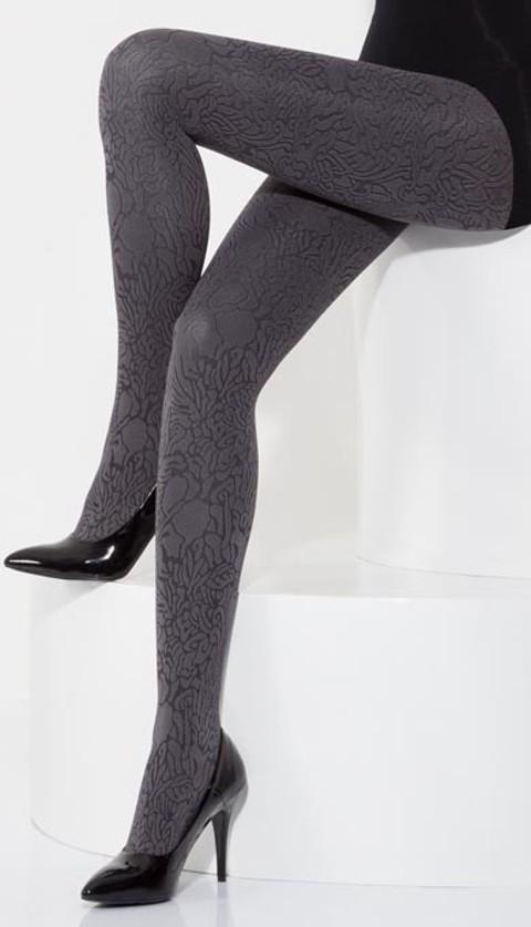 Daymod Olivia 3d Desenli Külotlu Çorap