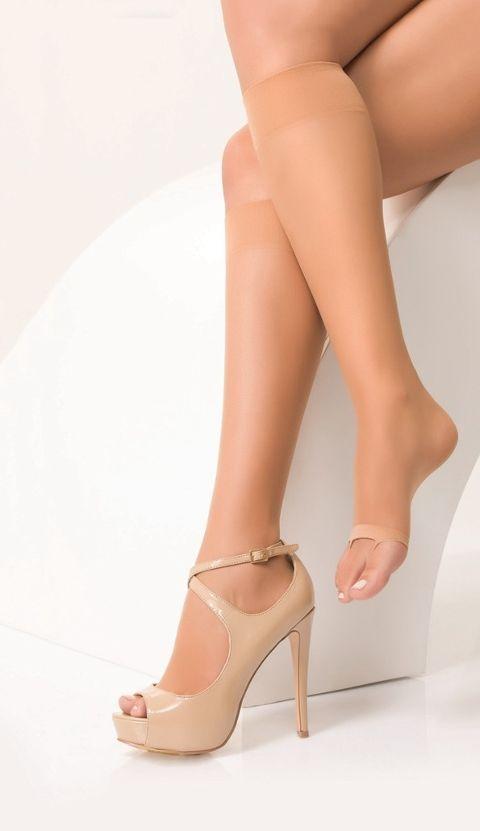 Daymod Parmaksız 8 Dizaltı Çorap
