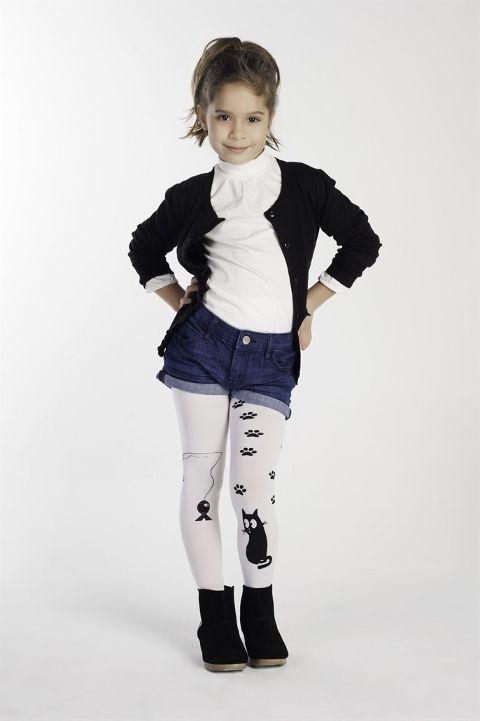 Daymod Pati Çocuk Külotlu Çorap D2122011