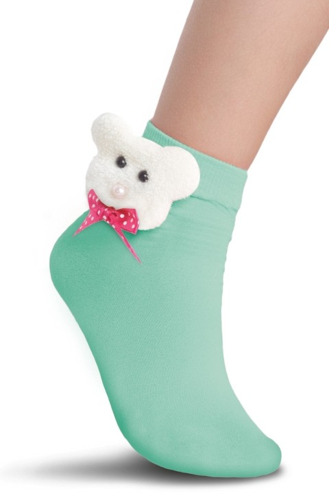 Penti Çocuk Bear Soket Çorap 143 Nane