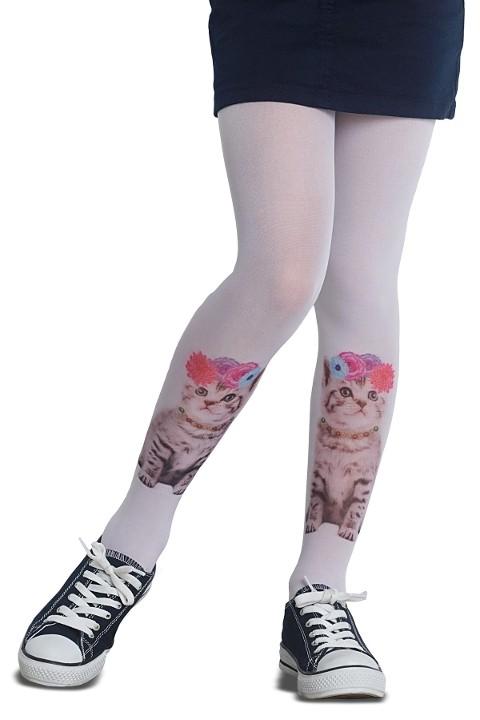 Penti Çocuk Cat Külotlu Çorap 10 Beyaz