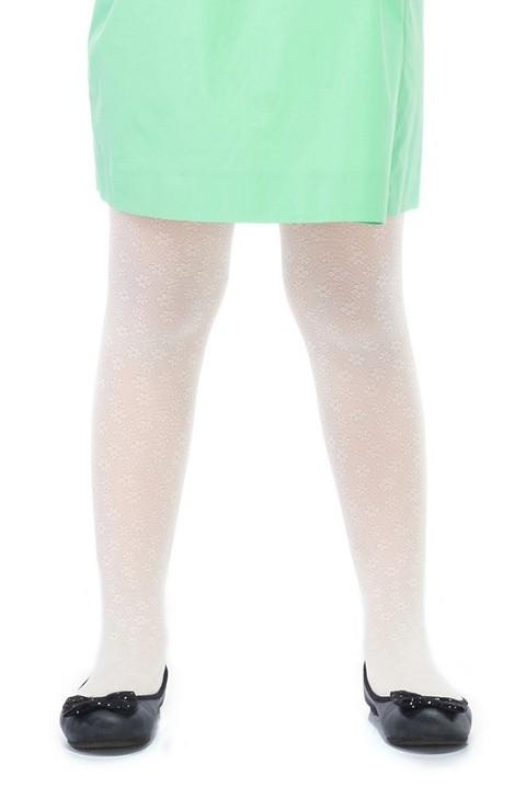 Penti Çocuk Eva Külotlu Çorap 10 Beyaz