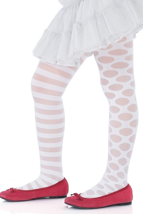 Penti Çocuk Lolipop Külotlu Çorap 10 Beyaz