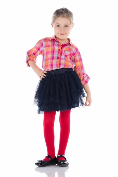 Penti Çocuk Mikro 40 Külotlu Çorap 70 Kırmızı
