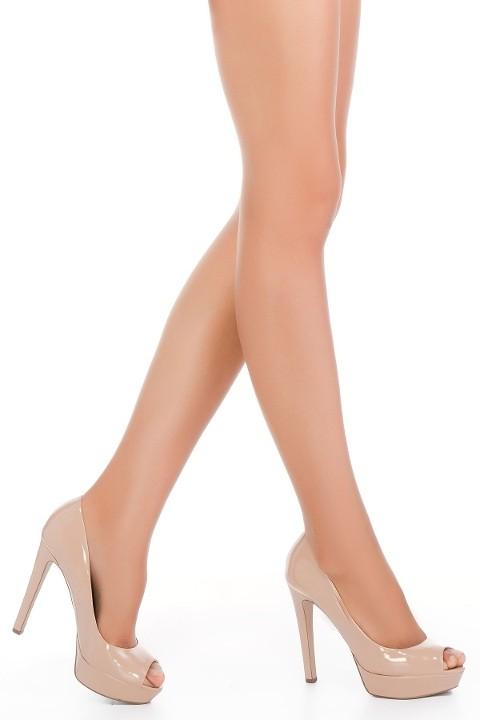 Penti Fit 15 Burunsuz Külotlu Çorap 86 Vizon - (3'lü Paket)