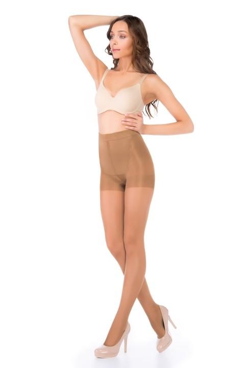 Penti Karın Toparlayan Ve Bacak İncelten Korseli Külotlu Çorap 38 Bronz - (3'lü Paket)
