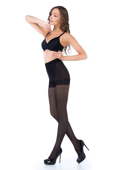 Penti Karın Toparlayan Ve Bacak İncelten Korseli Külotlu Çorap 500 Siyah - (3'lü Paket)