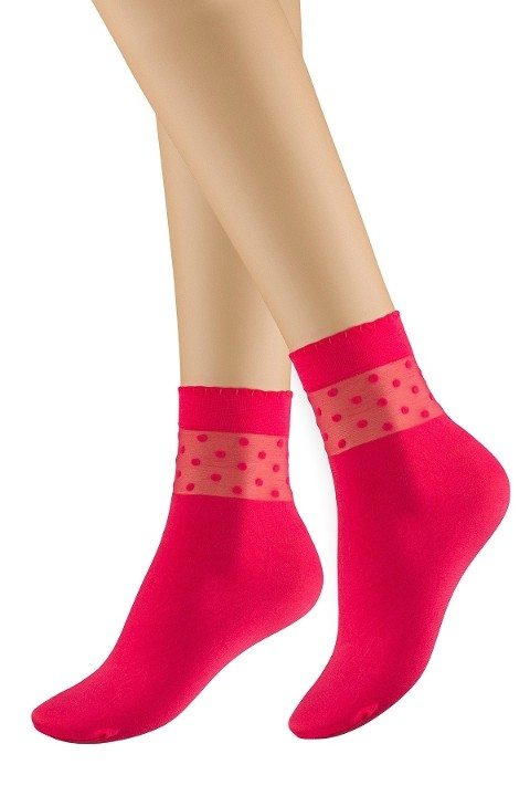Penti Mary Soket Çorap 128 Mercan (3'lü Paket)