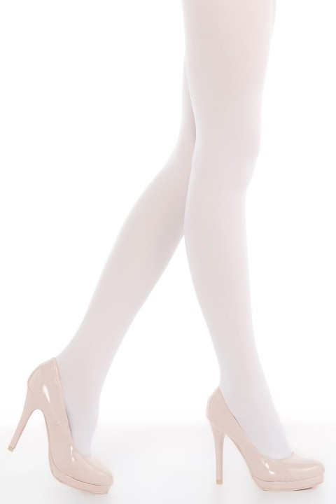 Penti Mikro 40 Külotlu Çorap 10 Beyaz - (3'lü Paket)