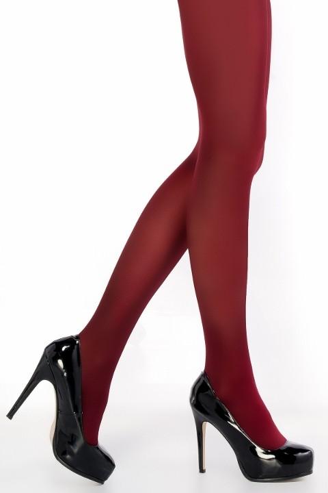 Penti Mikro 40 Külotlu Çorap 71 Bordo - (3'lü Paket)