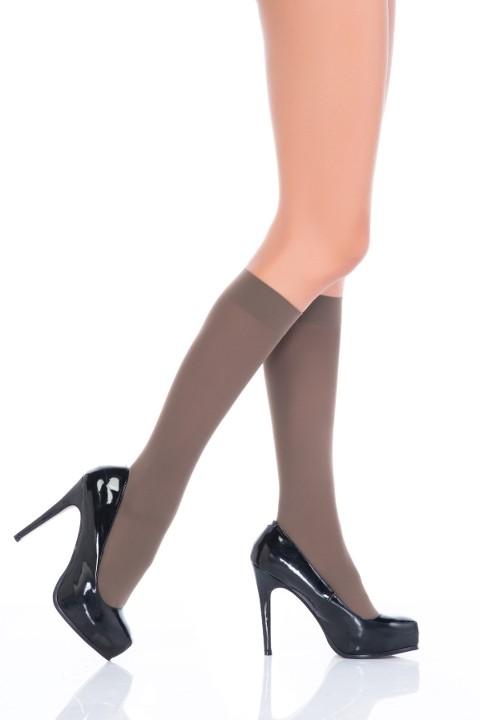 Penti Mikro 40 Pantolon Çorabı 86 Vizon (3'lü Paket)