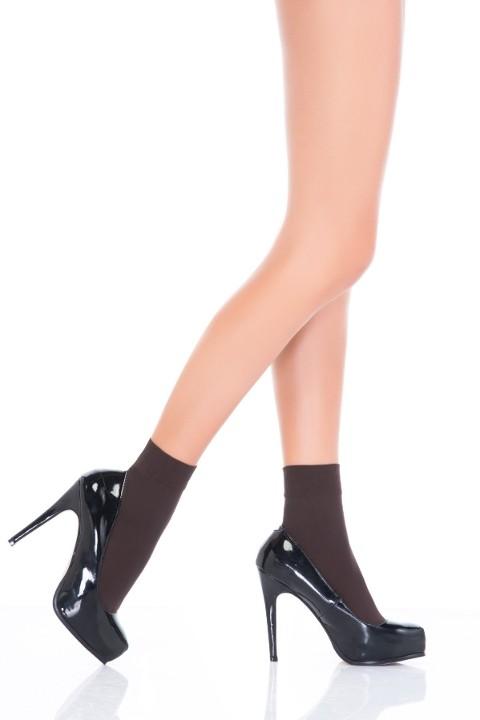Penti Mikro 40 Soket Çorap 44 Kestane (3'lü Paket)