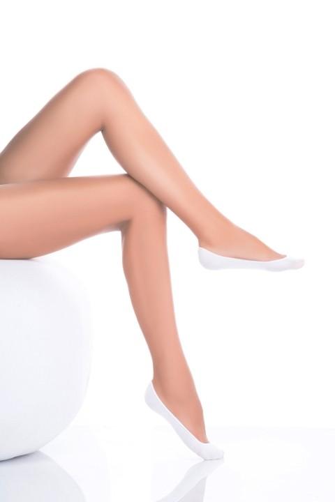 Penti Pamuklu Babet Çorabı 10 Beyaz (3'lü Paket)