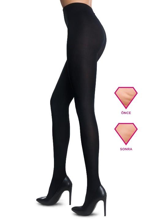 Penti Pentimizer Stop Cellulite Külotlu Çorap 500 Siyah - (3'lü Paket)